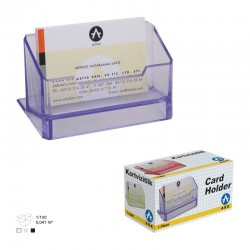 PORTE CARTES DE VISITE ARK Transparent 1384