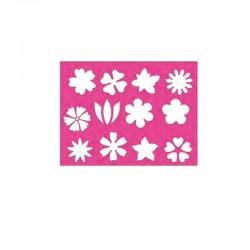 Modéle de Dessin et Peinture--Fleurs