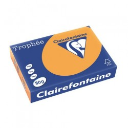 Rame Clairefontaine Caramel A4 80 gr - 500 feuilles