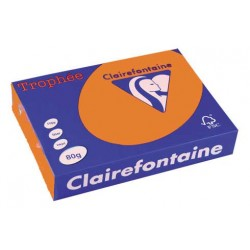 Rame Clairefontaine Abricot A4 80 gr - 500 feuilles