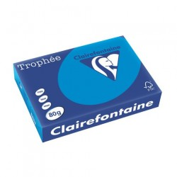 Rame Clairefontaine Turquoise A4 80 gr - 500 feuilles