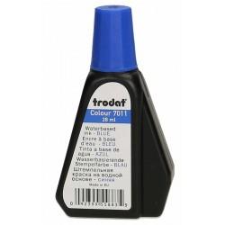 Bouteille d'encre à Tampon Trodat -Bleu