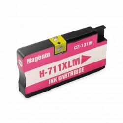 Cartouche Encre HP 711XL-Magenta