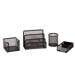 Ensemble de bureau Plastique -4 pièces