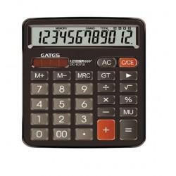 Calculatrice de bureau DC-837S-Marron