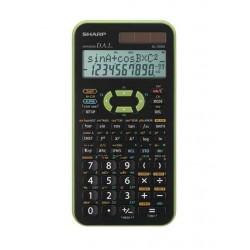 Calculatrice SHARP EL-506X Vert