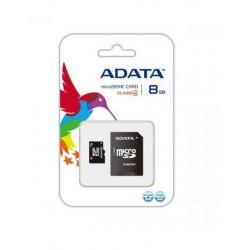 Carte Mémoire ADATA 8GB avec Adaptateur Micro SD