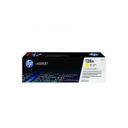 Toner HP D'origine 128A- Jaune