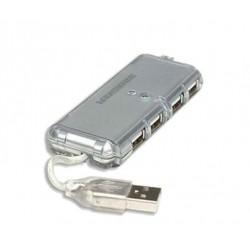 HUB Manhattan 4 Ports USB 2.0
