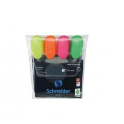 Pochette 4 Fluo Schneider-Job 150