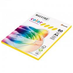 papier couleur MONDI A4 80 g / m², 5 couleurs assorties, 250 feuilles