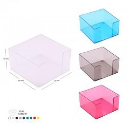 Cube En Plastique 9X9X5
