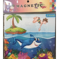 PUZZLE MAGNETIQUE 12PIECES