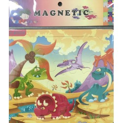PUZZLE MAGNETIQUE 12PIECES S-6003