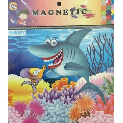 PUZZLE MAGNETIQUE 12PIECES S-6007