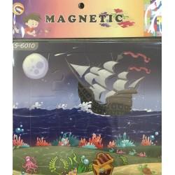 PUZZLE MAGNETIQUE 12PIECES S-6010