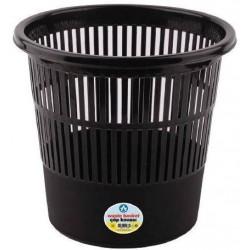 Ark Corbeille à papier (11 litres) -Noir