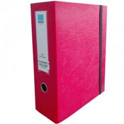 Boite d'archive 556RO Dos 10 cm - Rouge