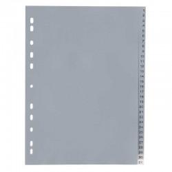 Intercalaire De Séparation 1-31 Plastique