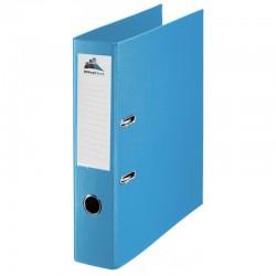 Classeur à levier Bleu Clair Dos 75mm A4 -OfficePlast PLASTIPAP