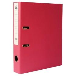 Classeur à levier Rose Dos 75mm A4 -OfficePlast PLASTIPAP