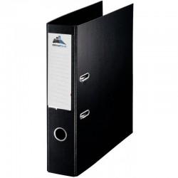 Classeur à levier Noir Dos 75mm A4 -OfficePlast PLASTIPAP