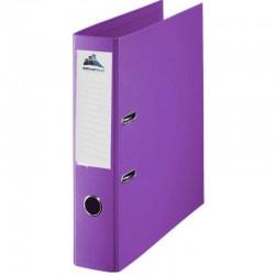 Classeur à levier Violet Dos 75mm A4 -OfficePlast PLASTIPAP