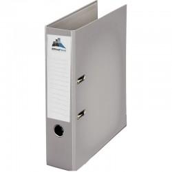 Classeur à levier Gris Dos 75mm A4 -OfficePlast PLASTIPAP