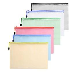 Chemise Zip Bag Plastique A4