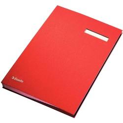Parapheur ESSLTE- Rouge 20 volets