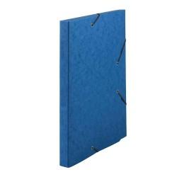 Chemise à rabats Dos 1 cm - Bleu