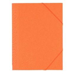Chemise à rabats Dos 1 cm - Orange