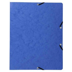 Chemise à rabats Plastique - Bleu Charbon