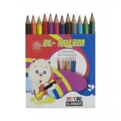 Crayon Couleur 12/9 El Kalem