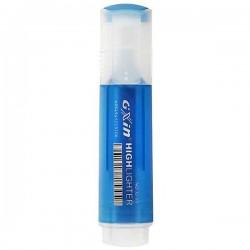 Surligneur GXin G310 pointe biseauté-Bleu