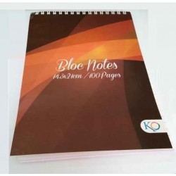 Bloc Notes 14.5 x 21 cm-100 pages