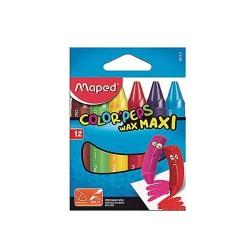 Maped crayons de cire color'peps