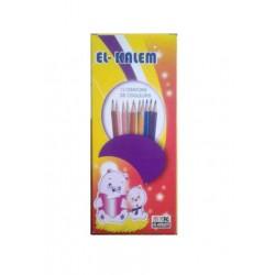 Crayon Couleur EL Kalem-Paquet de 12