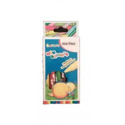 Crayons de cire- 6 Couleur Nisprea