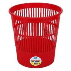 Ark Corbeille à papier (16 litres)-Rouge