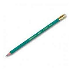 Crayon Noir Avec Gomme Evolution BIC 655