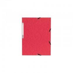 Chemise à rabats cartonnée exacompta - Rouge