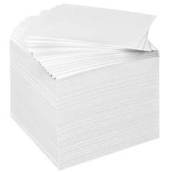Recharge bloc cube-Blanc
