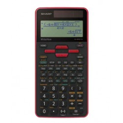 Calculatrice Scientifique SHARP EL-531 TG Rouge