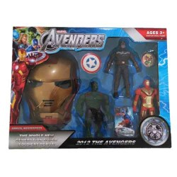 Ensemble Figurines Avengers
