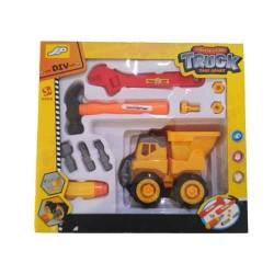 Ensemble de véhicule de construction avec des outils