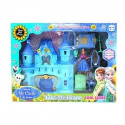 Ensemble château Frozen pour filles