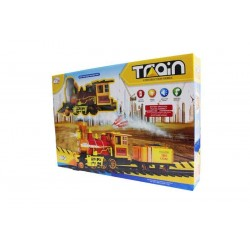 Jeu de rails de locomotive - Train