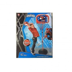 Paniers de basket-ball Ultimate Spiderman pour enfants, 2 en 1