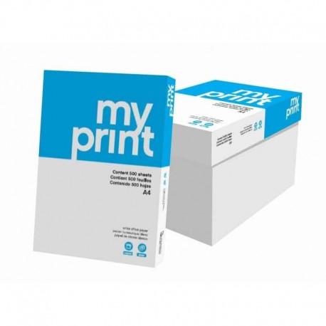 Lot de 100 Rames Papiers A4 MYPRINT
